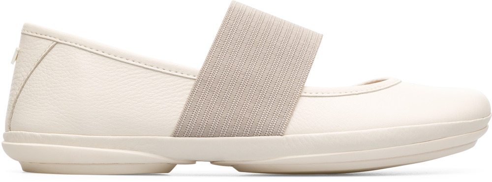 Camper Right Beige Casual Shoes Women 21595-113