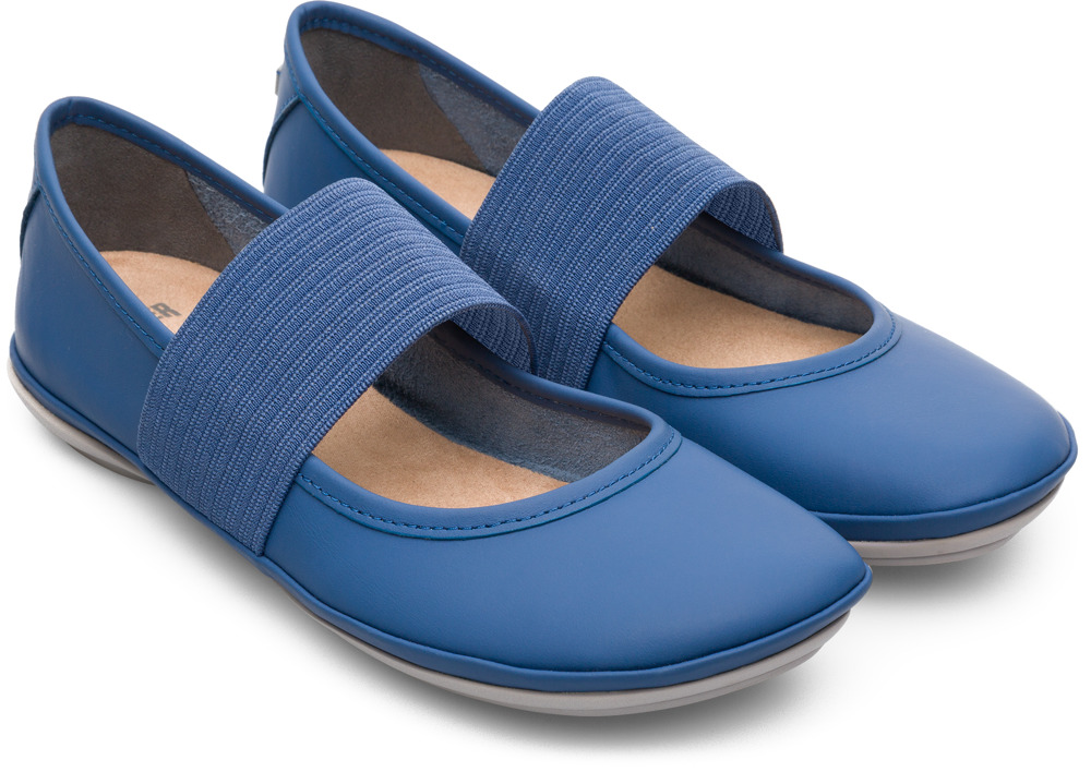 Camper Right Blue Casual Shoes Women 21595-115