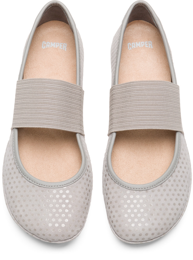 Camper Right Grey Casual Shoes Women 21595-117