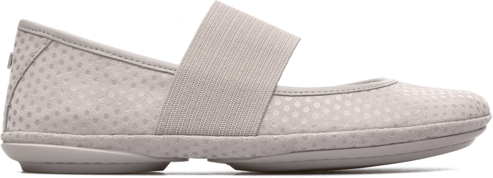 Camper Right Gris Chaussures casual Femme 21595-117