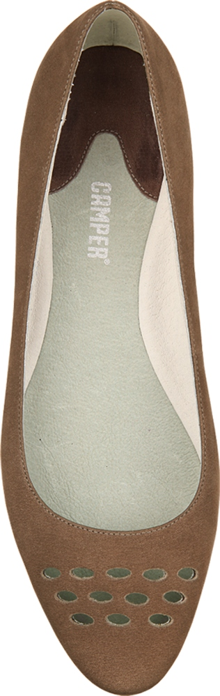 Camper HOLLY Brown Flats Women 21605-005
