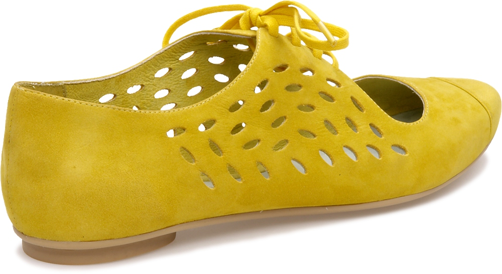 Camper HOLLY Yellow Flats Women 21607-001