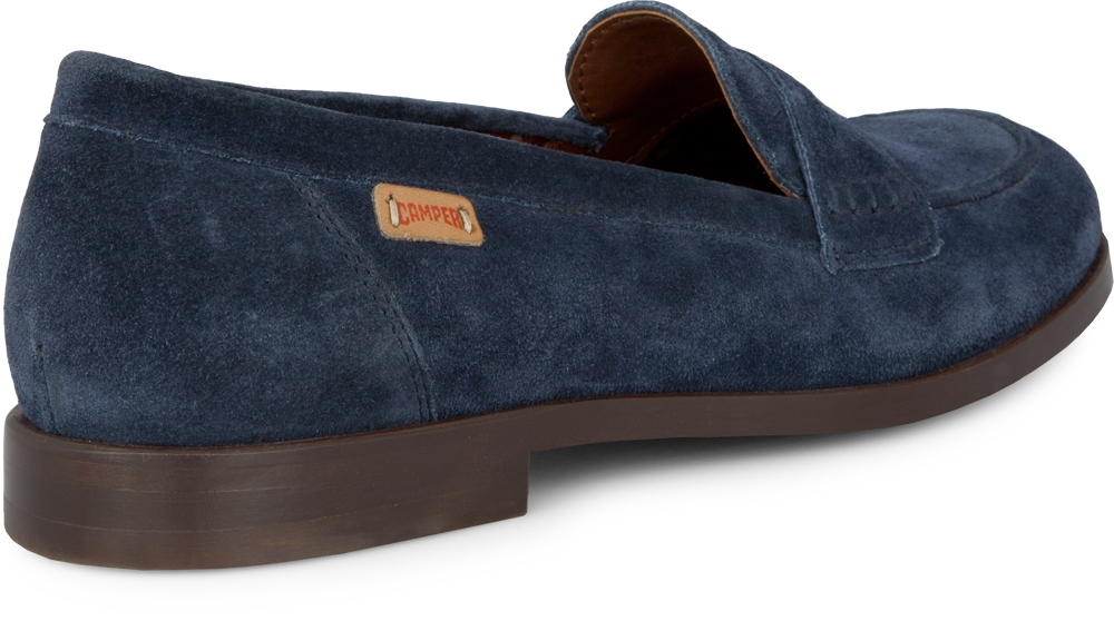 Camper WOODY Blue Flats Women 21705-003