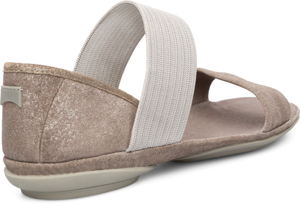 Camper RIGHT Grey Sandals Women 21735-005