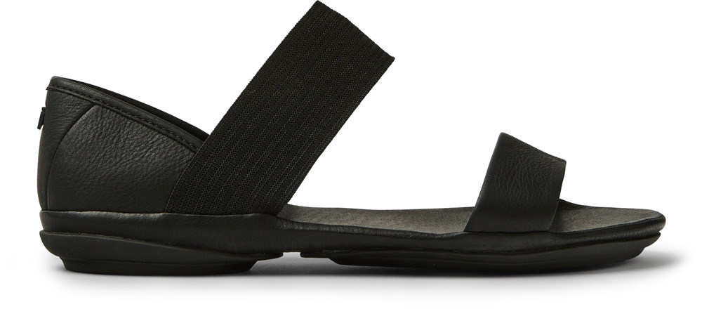 Camper Right Black Sandals Women 21735-008