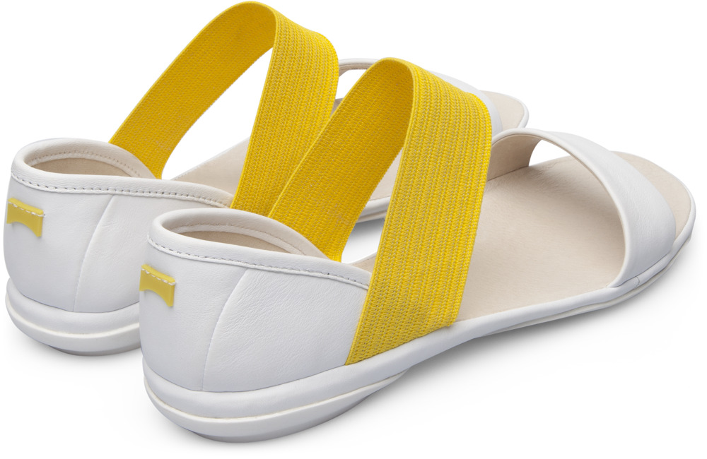 Camper Right White Sandals Women 21735-045