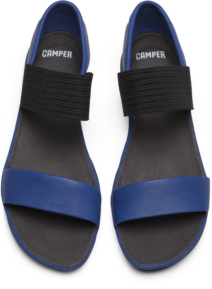 Camper Right Blue Sandals Women 21735-046