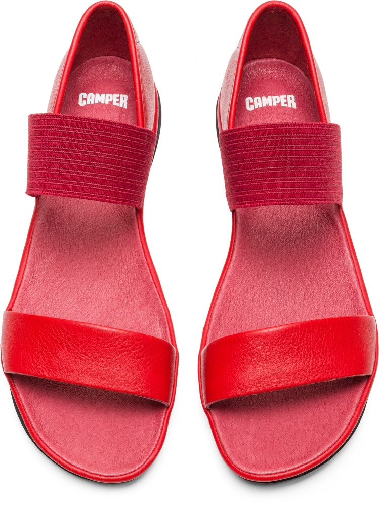 Camper Right Rouge Chaussures casual Femme 21735-051