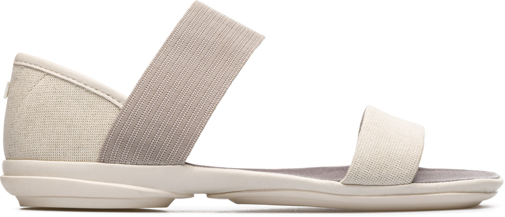 Camper Right Beige Casual Shoes Women 21735-052