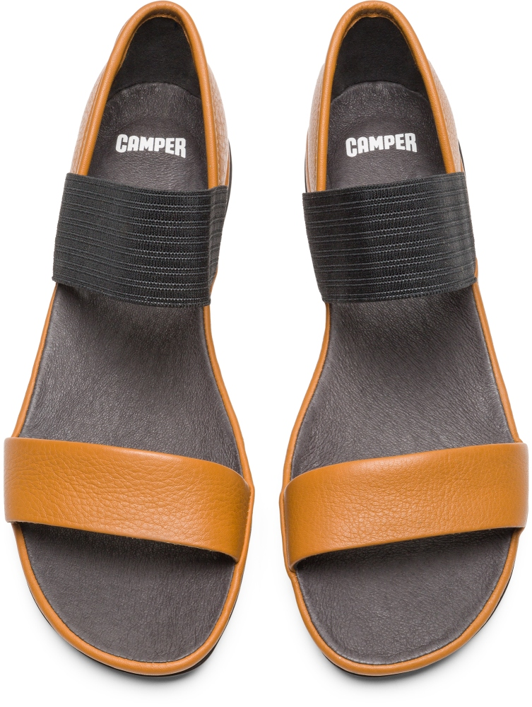 Camper Right Brown Casual Shoes Women 21735-053