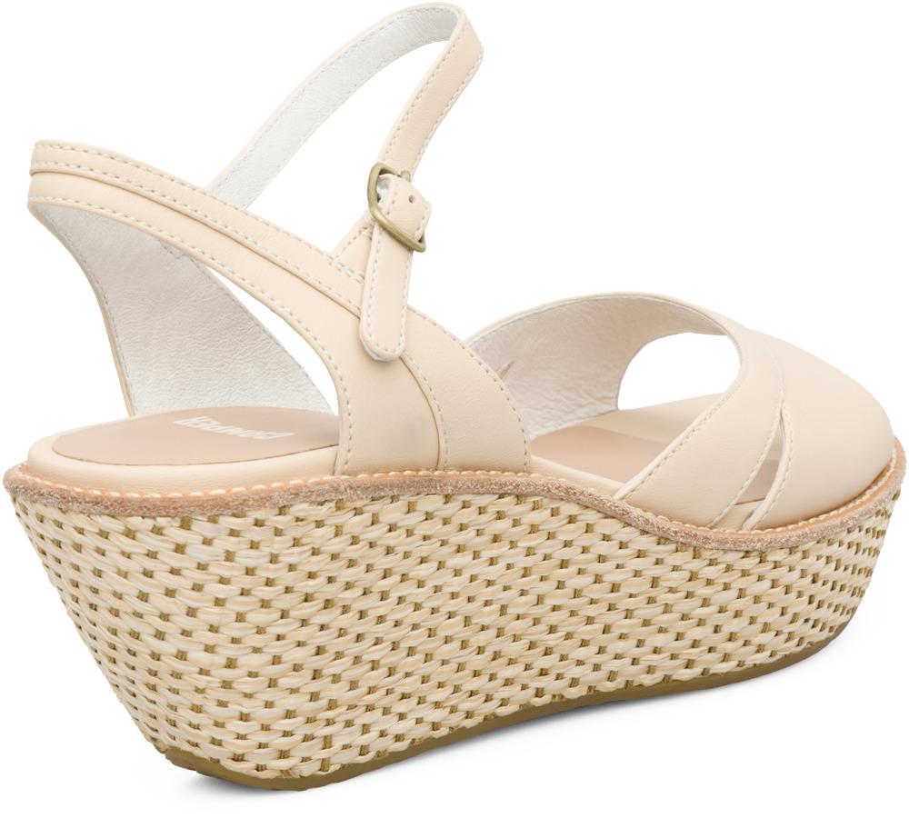 Camper DAMAS Beige Sandals Women 21772-003