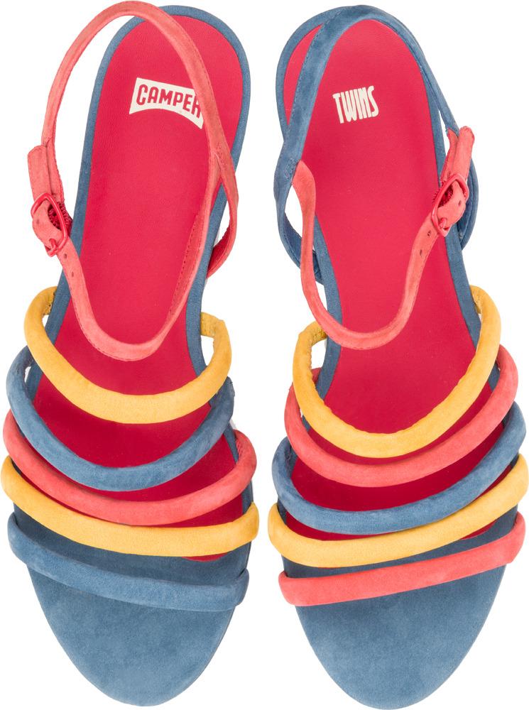 Camper Twins Multicolor Flats Women 21784-003
