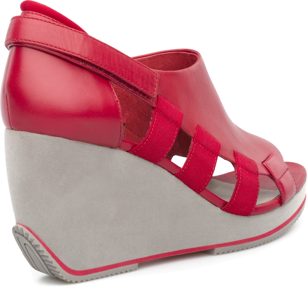 Camper TOGETHER Red Heels Women 21798-003