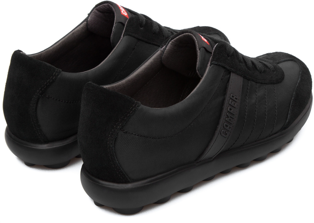 Camper Pelotas Step Black Flats Women 21814-008