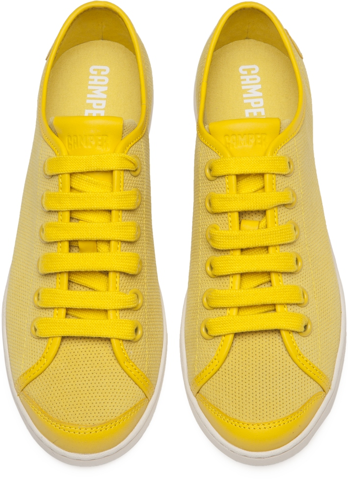 Camper Uno Yellow Sneakers Women 21815-042