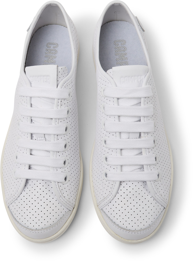 Camper Uno White Flat Shoes Women 21815-046