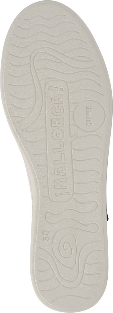 Camper Uno Blanc Chaussures plates Femme 21815-046