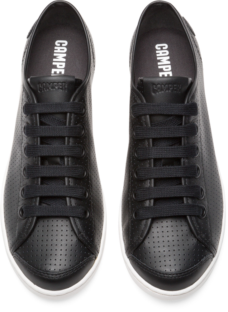 Camper Uno Black Flat Shoes Women 21815-047