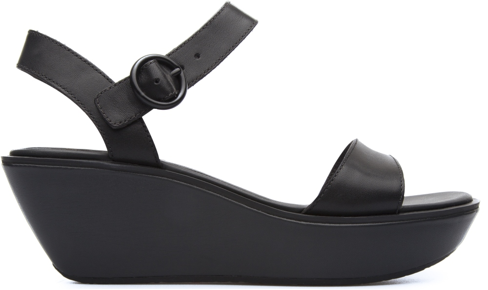 Camper Damas Black Sandals Women 21923-036