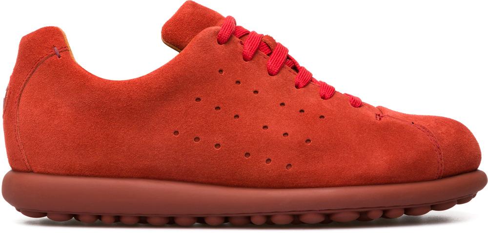 Camper Pelotas Red Flats Women 22522-027