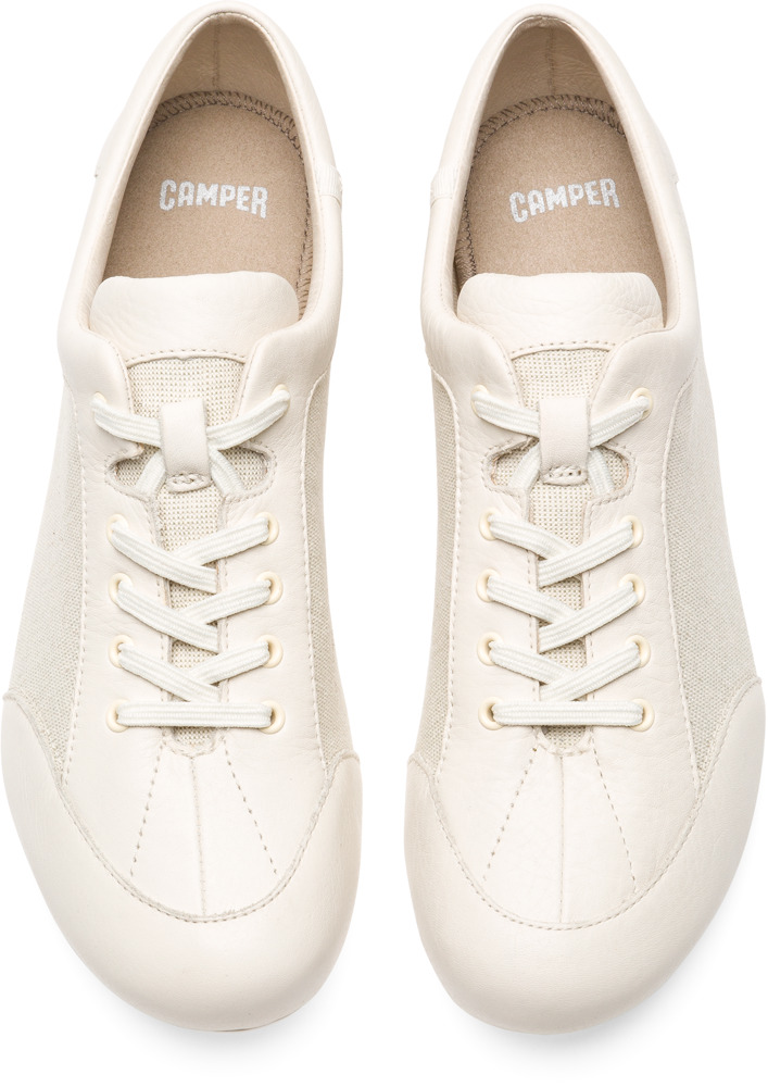 Camper Peu Senda Beige Casual Shoes Women 22614-029