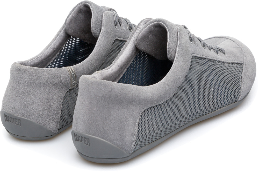 Camper Peu Senda Grey Casual Shoes Women 22614-031