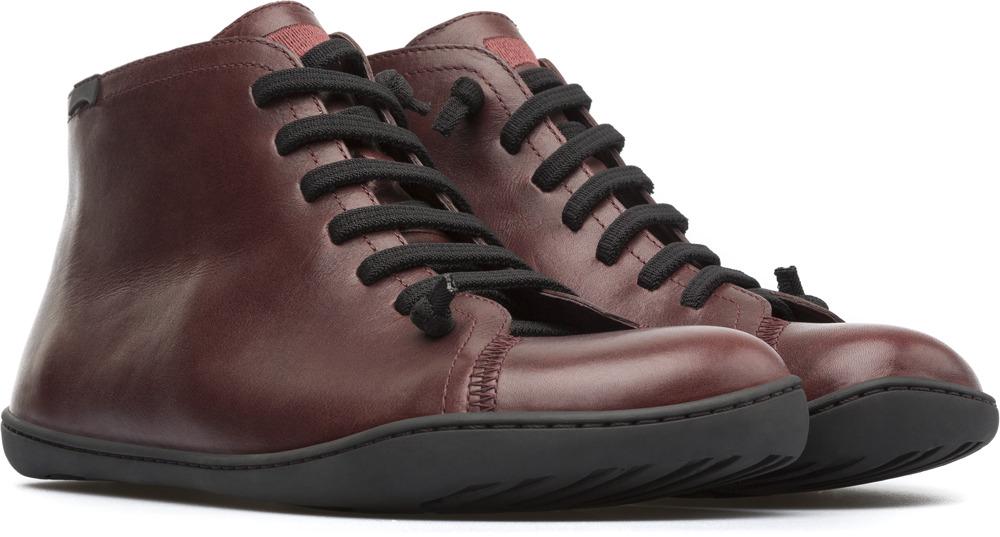 Camper Peu Red Ankle boots Men 36411-075