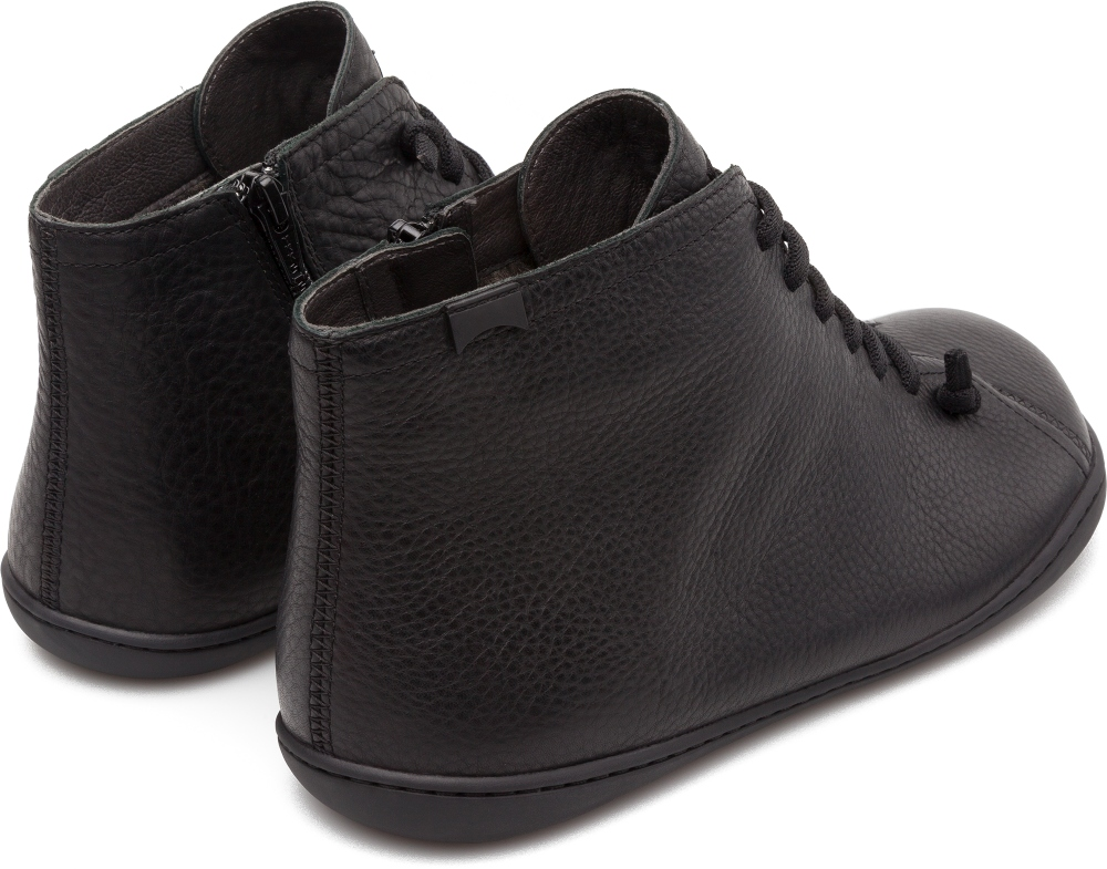 Camper Peu Black Ankle Boots Men 36458-031