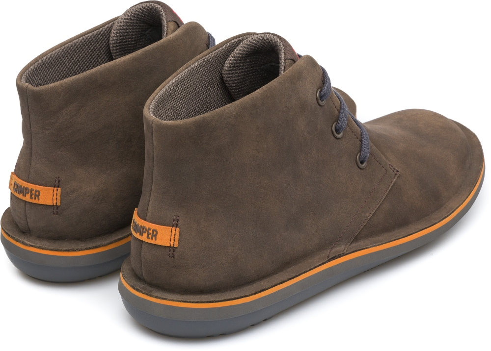 Camper Beetle Brown Ankle boots Men 36530-051