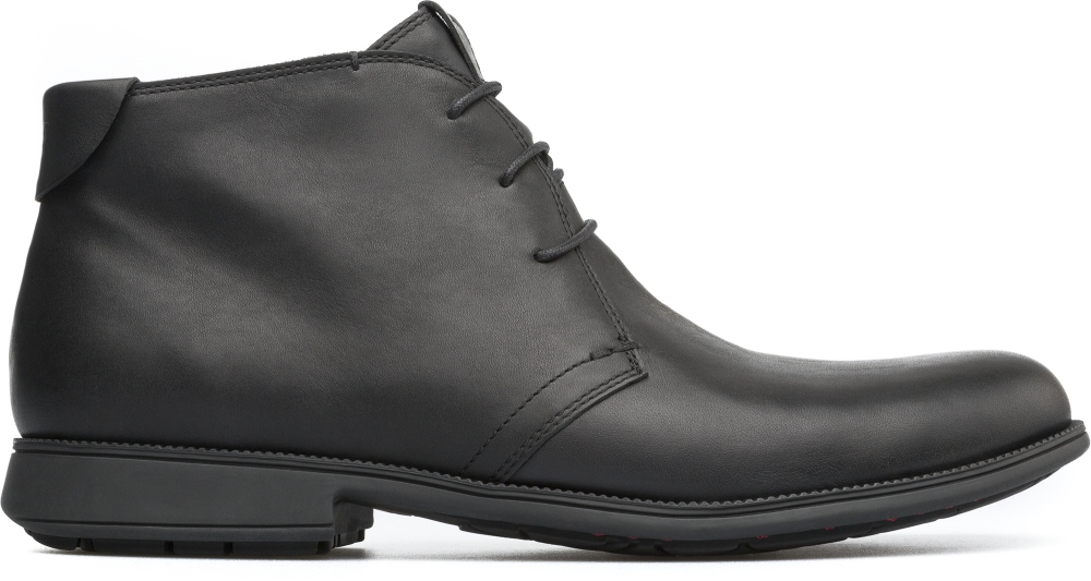 Camper Mil Black Ankle boots Men 36587-048