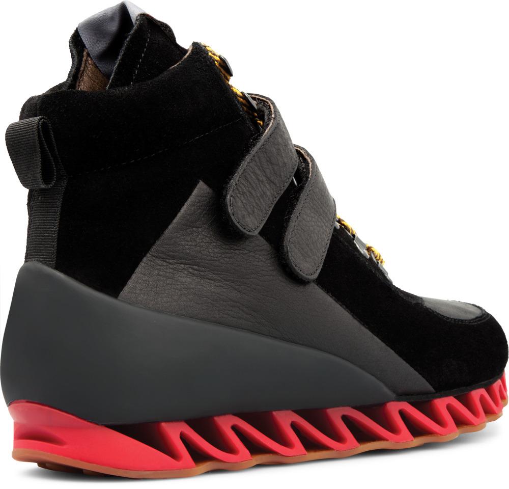 Camper TOGETHER Black Boots Men 36618-002
