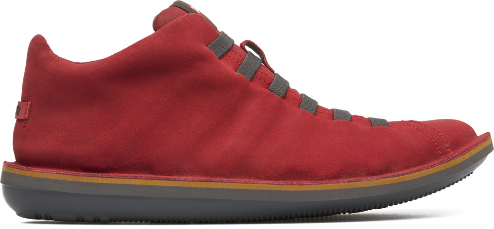 Camper Beetle Red Ankle boots Men 36678-043
