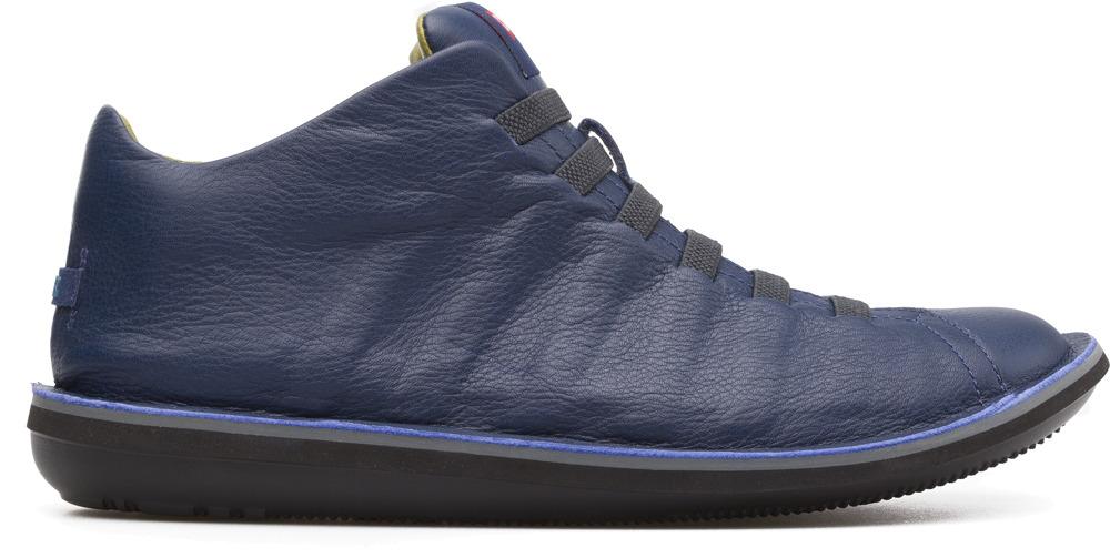 Camper Beetle Blue Ankle Boots Men 36678-045