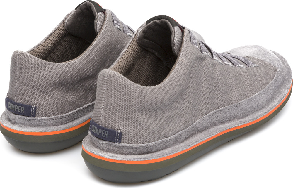 Camper Beetle Gris Bottines Homme 36791-031