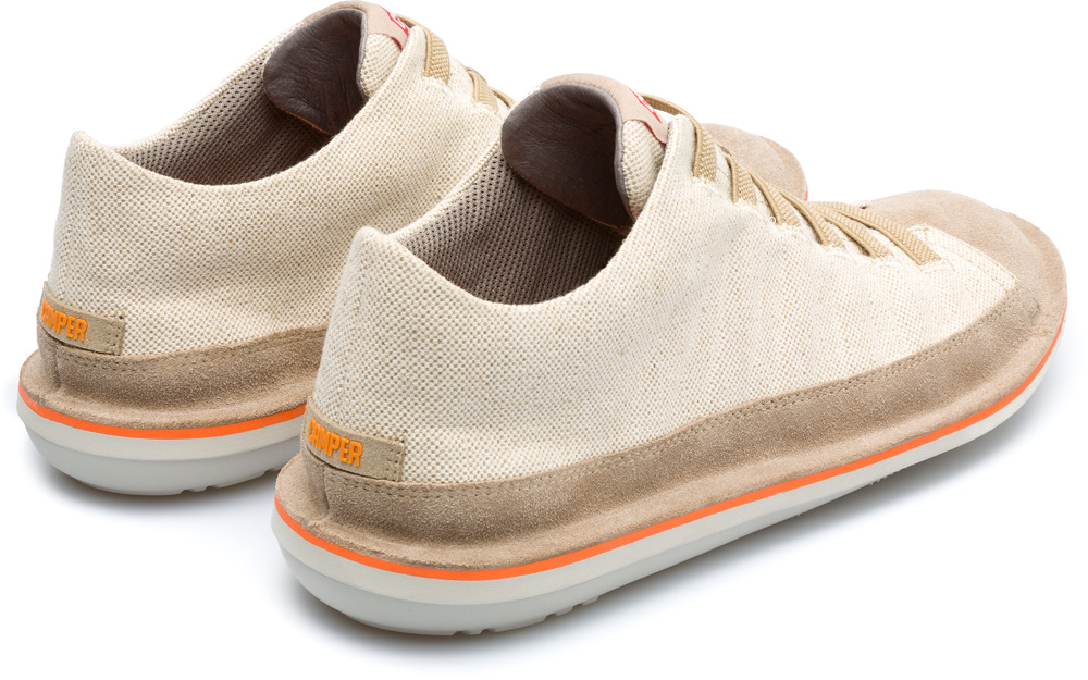 Camper Beetle Beige Casual Shoes Men 36791-036