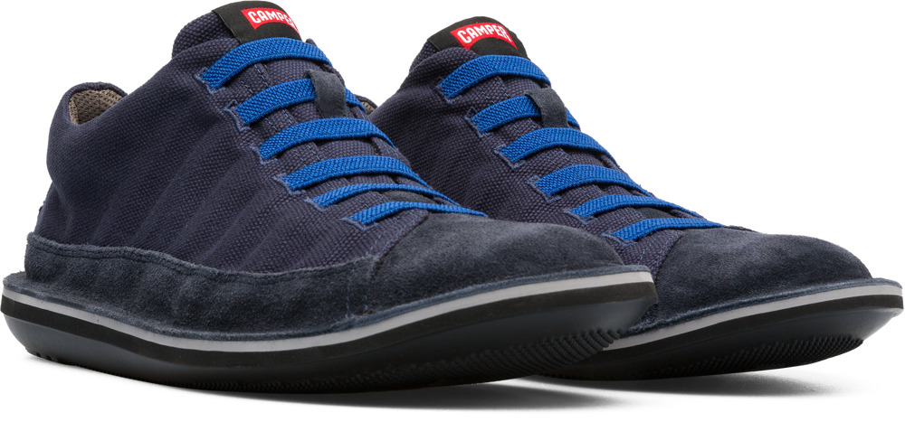Camper Beetle Blue Casual Shoes Men 36791-041