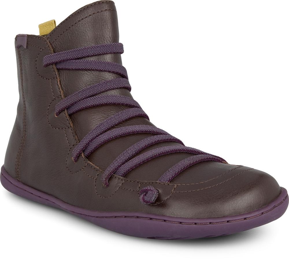 Camper Peu Brown Boots Women 46104-034