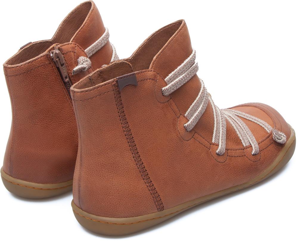 Camper Peu Brown Boots Women 46104-082