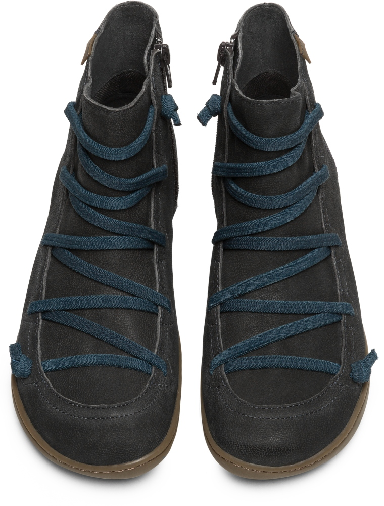 Camper Peu Negro Zapatos Casual Mujer 46104-094