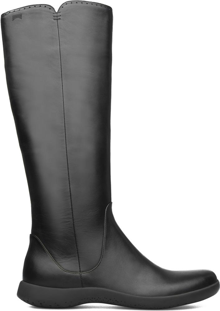 Camper Spiral Comet Black Ankle Boots Women 46300-007