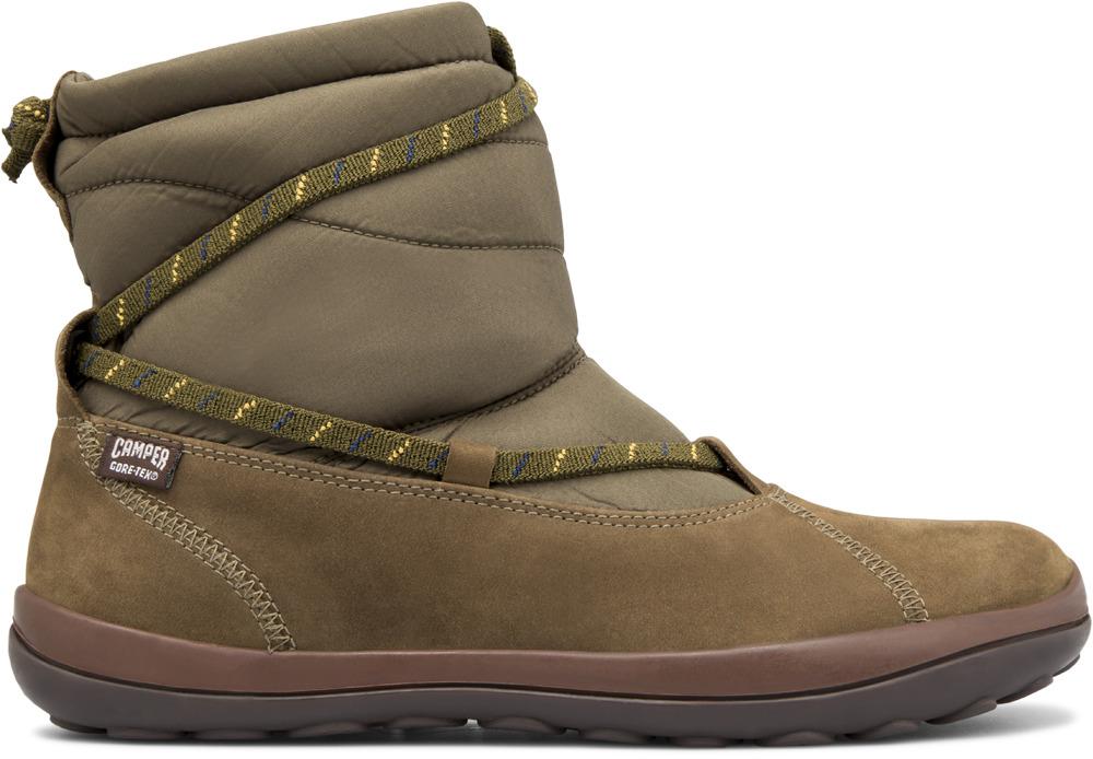 Camper Peu Green Boots Women 46421-006