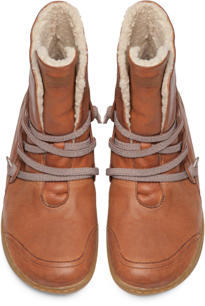Camper Peu Brown Boots Women 46477-034
