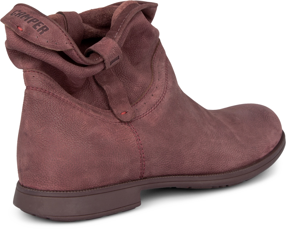 Camper MIL Red Boots Women 46504-004