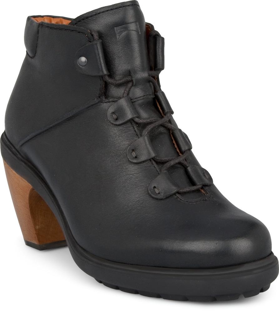 Camper VALLEY Black Boots Women 46524-003