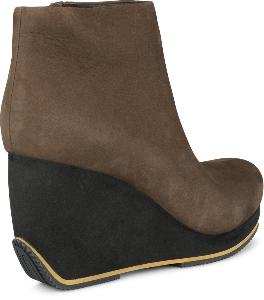 Camper TOGETHER Green Boots Women 46563-002