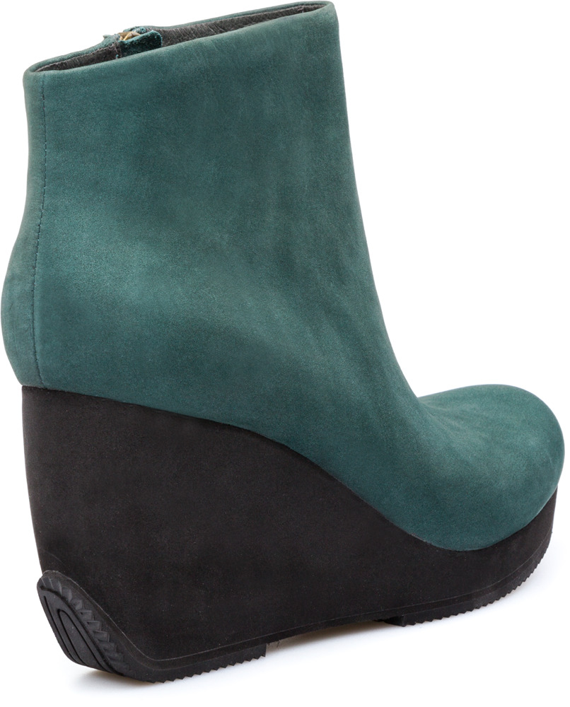 Camper TOGETHER Green Ankle boots Women 46563-005