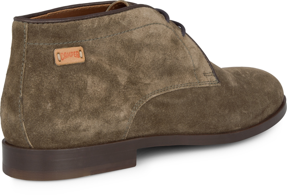 Camper WOODY Green Boots Women 46567-003