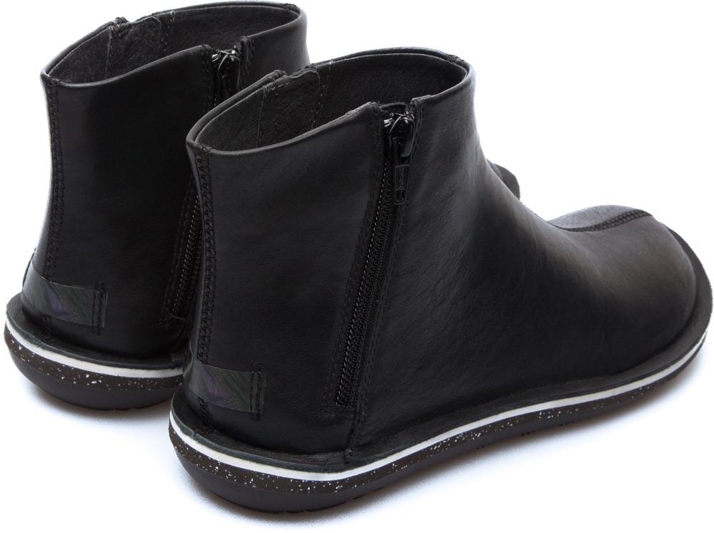 Camper Beetle Black Boots Women 46613-030
