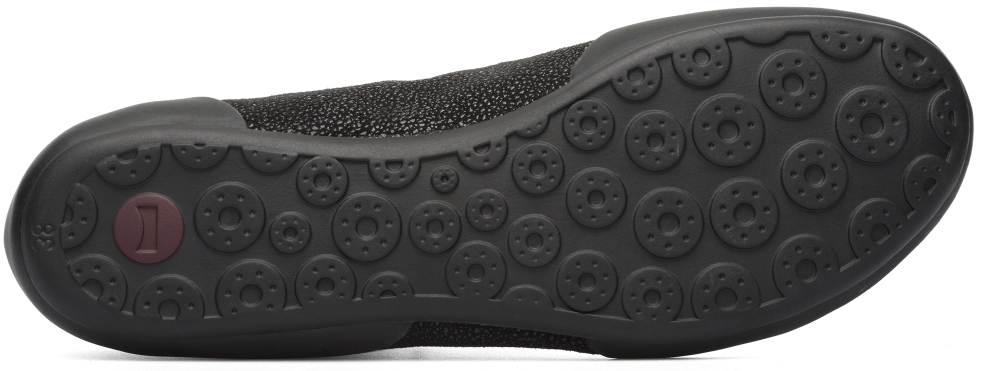 Camper Peu Senda Negre Sneakers Dona 46713-037