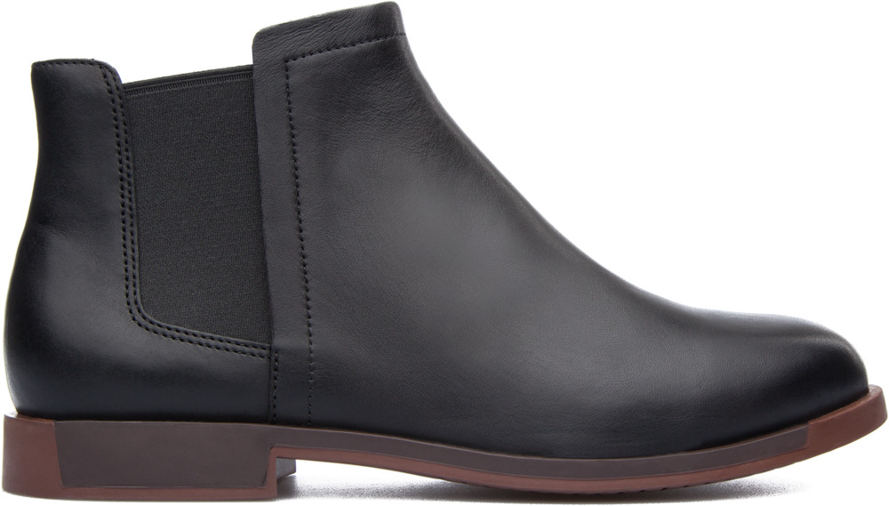 Camper Bowie Black Ankle boots Women 46763-025
